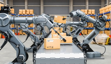 Robotization in logistics and packaging industry
